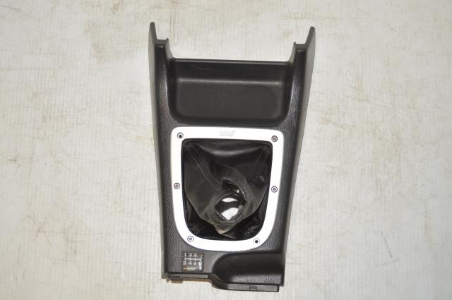 JDM 6-Speed GDB STi 2002-2005 Version 7 / 8 Center Shifter Trim Assembly for Sale