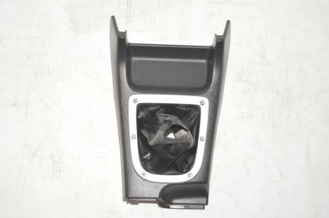 Version 7 / Version 8 JDM Used Center Console STi Shift Trim with Bezel