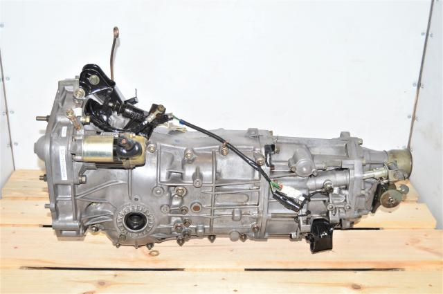JDM Subaru Forester XT 2004-2005 5-Speed Manual Pull-Type Transmission for Sale