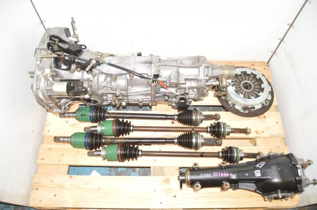 2002-2005 WRX 5-Speed Manual Transmission Swap with 4.444 Rear LSD & Axles for Sale