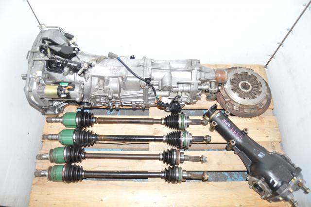 Subaru WRX 2002-2005 5-Speed Manual Pull-Type GD Swap with Axles, 4.444 LSD Rear Diff & Used Clutch for Sale