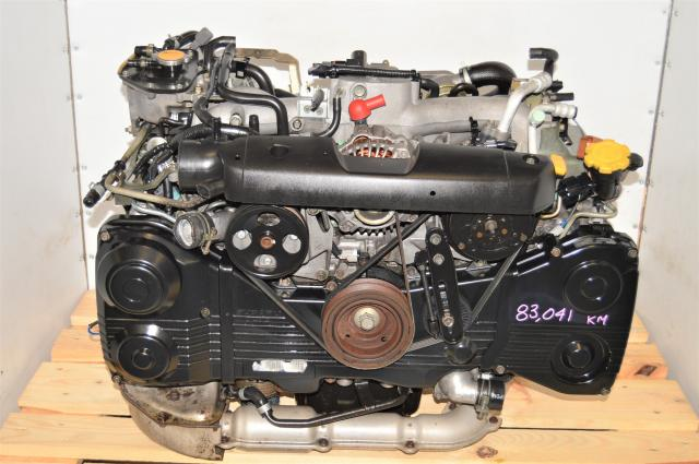 JDM Subaru Forester 2.0L Replacement EJ20T Replacement TF035 Turbocharged Engine for Sale