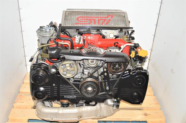 JDM Subaru STi AVCS EJ207 2.0L Version 8 2002-2007 Twin Scroll Engine DOHC Swap for Sale