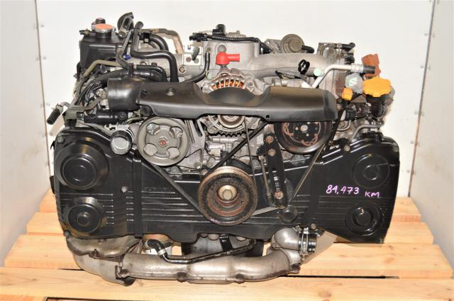 JDM Subaru GDA WRX 2002-2005 2.0L EJ205 AVCS TD04 Turbocharged Engine for Sale