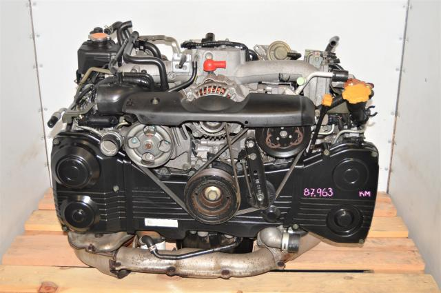 JDM Subaru WRX GDA 2002-2005 EJ205 TD04 Turbocharged 2.0L DOHC AVCS Engine Swap for Sale