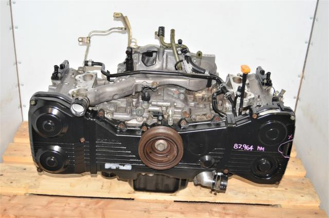 Used DOHC WRX 2002-2005 2.0L GDA GGA Long Block Replacement EJ205 JDM Motor for Sale