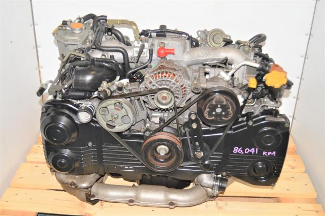 Used Subaru WRX 2002-2005 GD 2.0L EJ205 DOHC TD04 Turbocharged AVCS Engine Swap for Sale