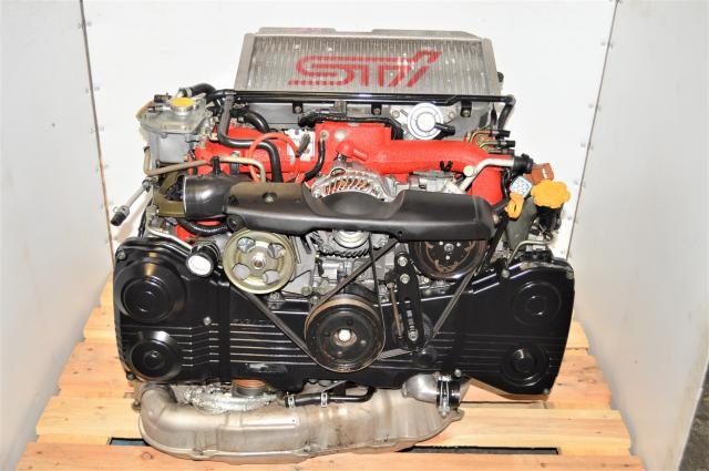 Used Subaru EJ207 Version 9 STi 2.0L DOHC AVCS 2002-2007 Engine Swap for Sale