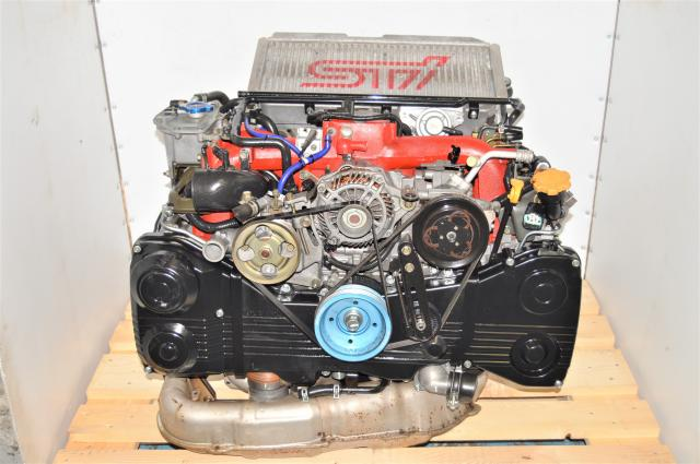GDB STi Version 9 JDM Subaru 2002-2007 2.0L AVCS EJ207 Quad Cam Engine Swap for Sale