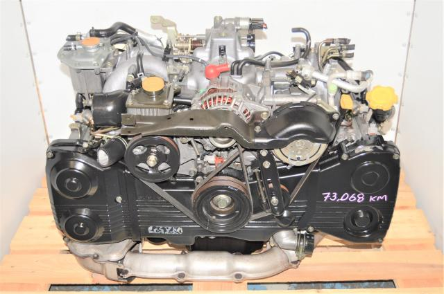 JDM Subaru WRX 2002-2005 GDA TD04 Turbocharged Non-AVCS Engine Replacement for Sale