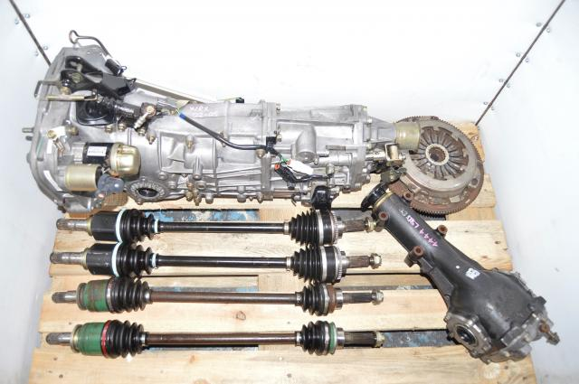 Used Subaru WRX 2002-2005 GDA Manual 5-Speed Transmission Swap for Sale with Rear 4.444 LSD