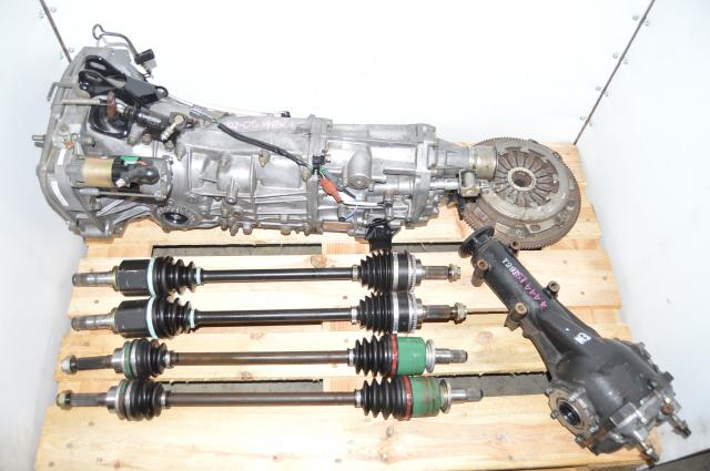 Subaru 2.0L Replacement 2002-2005 WRX GDA 5MT with Axles, Rear 4.444 LSD & Manual Pull-Type Clutch