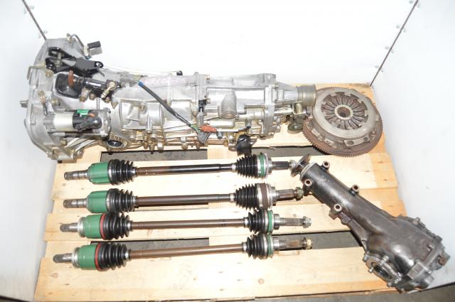 Used JDM Pull-Type WRX 2002-2005 5-Speed Manual Transmission, GDA Axles & Clutch
