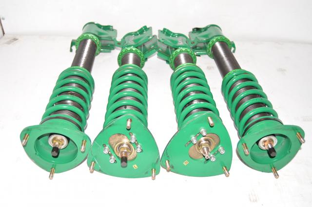 JDM Subaru Forester SG5 SG9 TEIN Flex-Z Adjustable Coilovers for Sale - 5x100