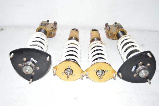 Used Subaru Legacy HKS Hipermax IV Front & Rear Adjustable Coilovers for Sale