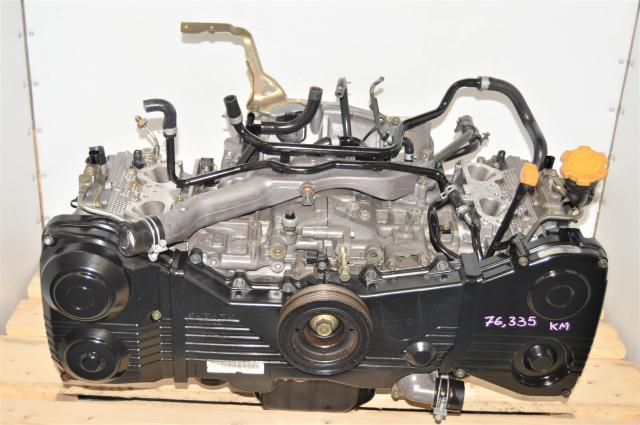 Used JDM DOHC 2.0L Long Block WRX 2002-2005 Replacement AVCS Engine Swap for Sale