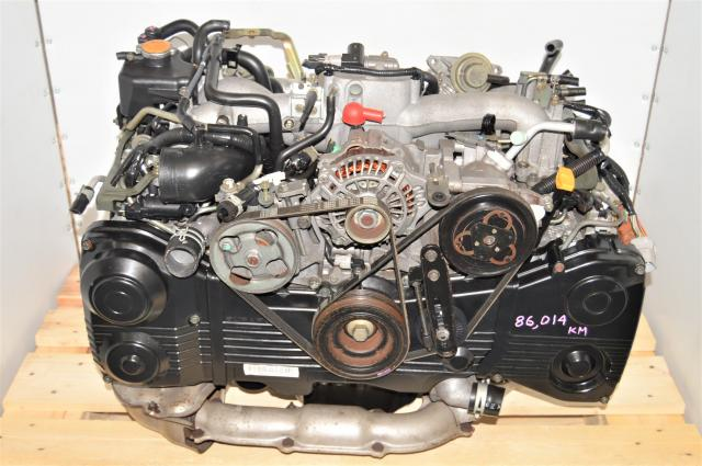 JDM AVCS WRX 2002-2005 EJ205 2.0L TD04 Turbocharged DOHC Engine Swap for Sale