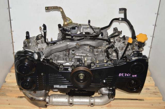 Used AVCS Subaru EJ205 WRX 2002-2005 GDA 2.0L Long Block DOHC Engine Replacement