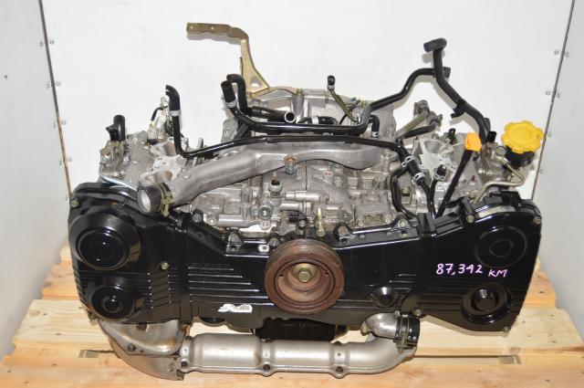 Used JDM EJ205 WRX 2002-2005 AVCS 2.0L Long Block DOHC GDA Engine for Sale