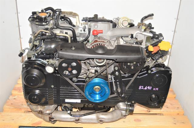 Used AVSC Subaru WRX 2002-2005 GDA EJ205 2.0L Engine Replacement with TD04 Turbo for Sale