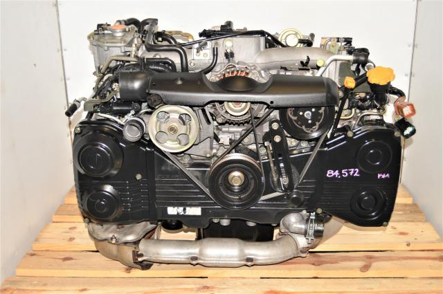 Used Low Mileage Subaru WRX 2002-2005 GDA 2.0L TD04 Turbocharged AVCS Engine for Sale