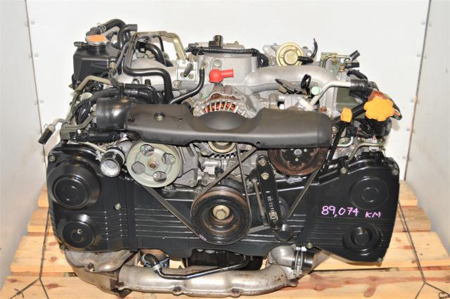 Used Subaru WRX 2.0L DOHC 2002-2005 AVCS TD04 Turbocharged Engine for Sale
