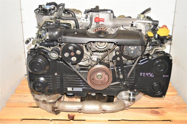 Used GD WRX 2002-2005 JDM EJ205 AVCS Replacement TD04 Turbocharged Engine