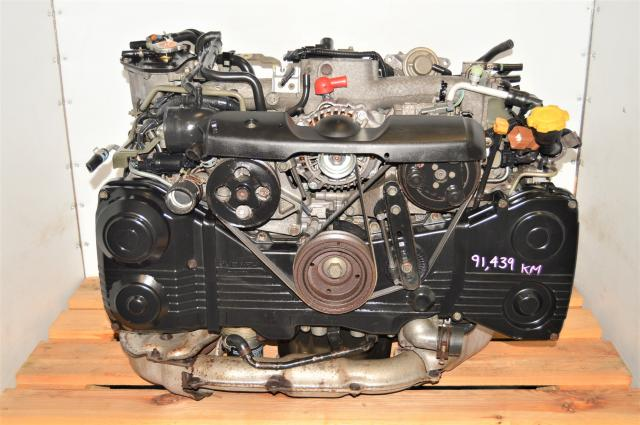 JDM WRX AVCS 2.0L DOHC 2002-2005 EJ205 Motor with TD04 Turbo for Sale