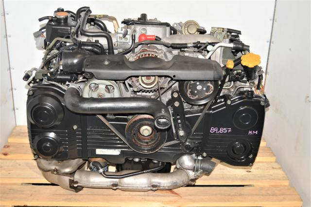 2002-2005 JDM WRX AVCS 2.0L Replacement EJ205 Engine with TD04 Turbo