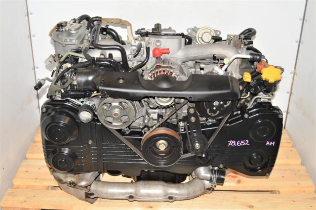 Used Subaru GDA WRX 2002-2005 2.0L AVCS EJ205 Engine swap with TD04 Turbo