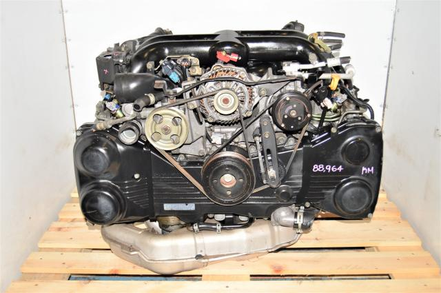 Used Subaru EJ20X 2004-2005 2.0L DOHC AVCS Legacy Twin-Scroll Replacement Engine