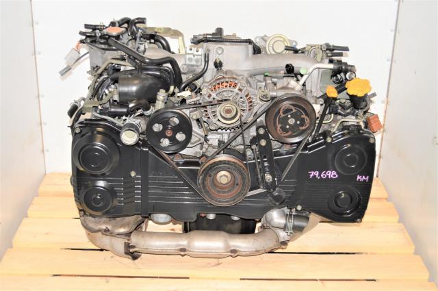 Used WRX AVCS EJ205 2002-2005 2.0L Engine Swap with TD04 Turbo for Sale