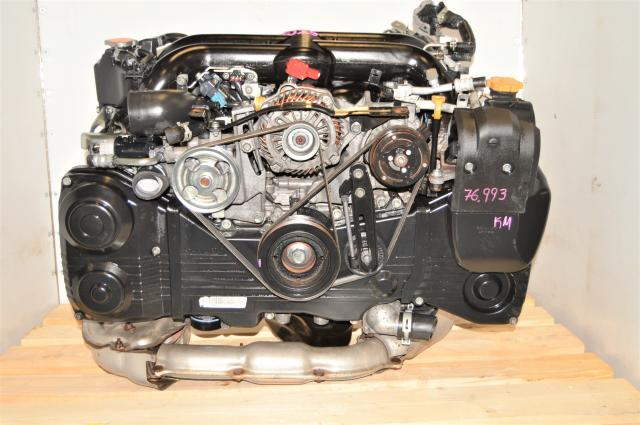 Used Subaru WRX 2.5L EJ255 DOHC Dual-AVCS Replacement Turbocharged Low Mileage Engine Swap for Sale