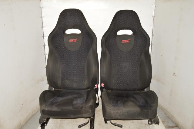 JDM WRX STI V.8 Spec-C GDB GDA 2002-2007 Front Left & Right Seats Used for Sale