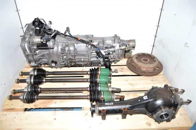 Subaru WRX 2002-2005 GDA Used 5-Speed Transmission Swap with Clutch, Axles & 4.444 Diff for Sale