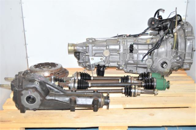 Subaru WRX 2002-2005 4.11 Ratio 5-Speed Manual GD Transmission with R160 Rear Diff, Axles & Clutch for Sale