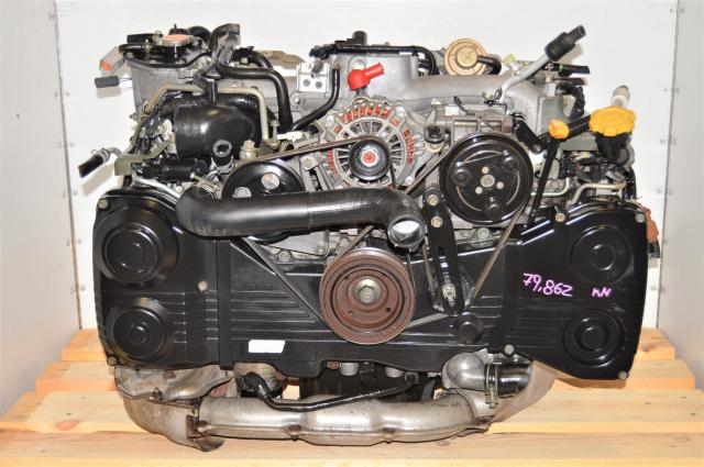 JDM Subaru EJ205 WRX 2002-2005 GDA 2.0L AVCS DOHC TD04 Turbocharged Motor for Sale