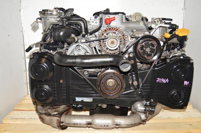 TD04 Turbocharged JDM EJ205 AVCS GDA WRX 2002-2005 2.0L DOHC Engine Swap