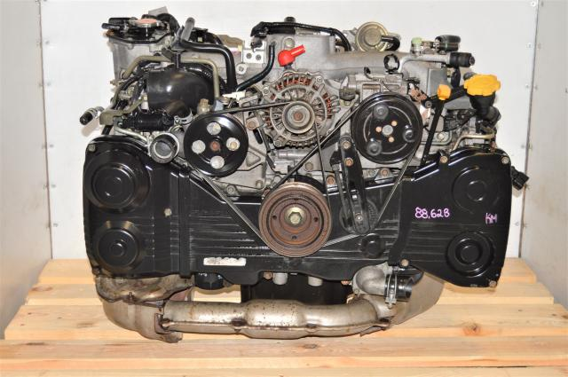 Used JDM AVCS EJ205 DOHC GDA 2002-2005 WRX TD04 Turbocharged Engine for Sale