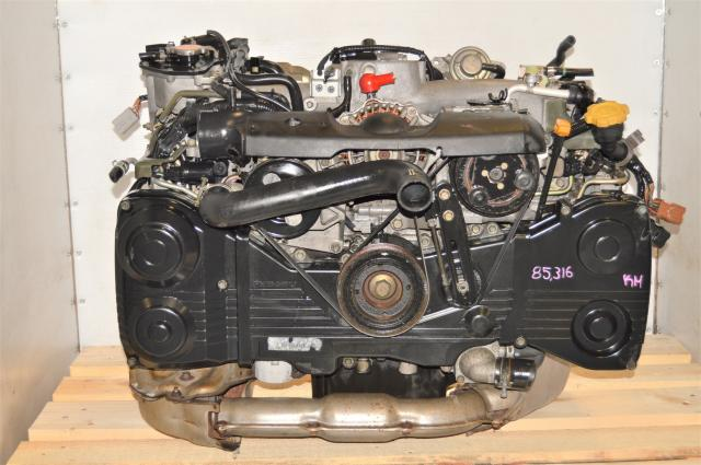 TD04 Turbocharged 2.0L JDM WRX 2002-2005 GDA Replacement EJ205 AVCS Engine for Sale