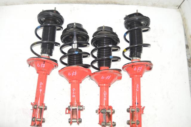 JDM GC8 STI Red Suspension