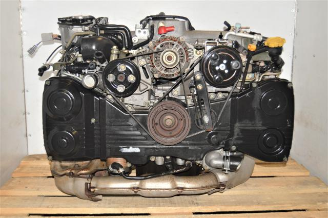 AVCS Used Subaru EJ205 2.0L TD04 Turbocharged WRX 2002-2005 Replacement JDM Engine for Sale