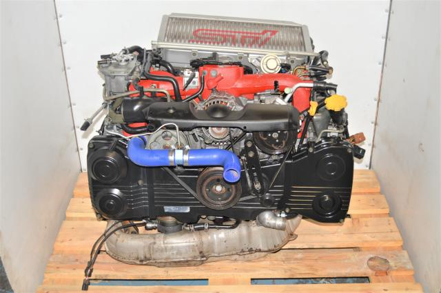 JDM Version 8 STi 2.0L EJ207 Used AVCS JDM Engine Swap for Sale with Intercooler