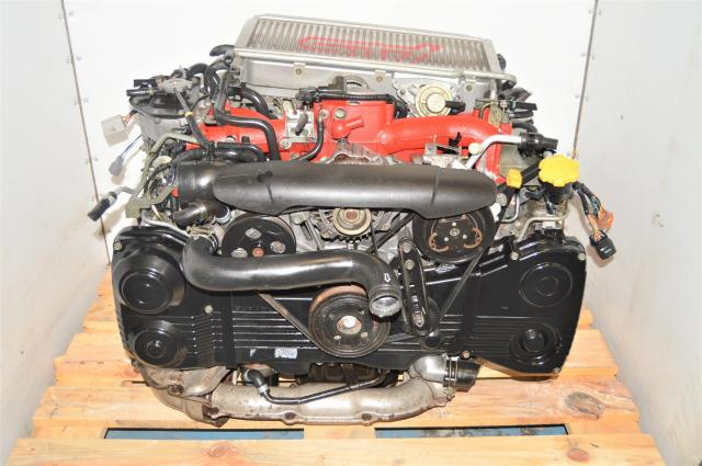 Used JDM Version 7 STi 2.0L EJ205 AVCS DOHC Engine for Sale with Intercooler & ECU