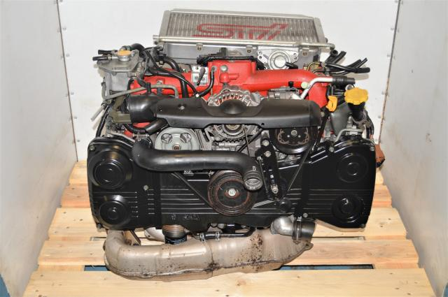 Used Subaru WRX STi JDM EJ207 2.0L DOHC AVCS 2002-2007 Twin Scroll Engine with Intercooler