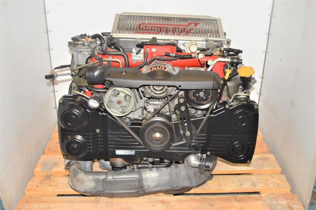 JDM Version 8 STi EJ207 DOHC AVCS GDB 2002-2007 Twin Scroll Engine Swap with Intercooler & ECM