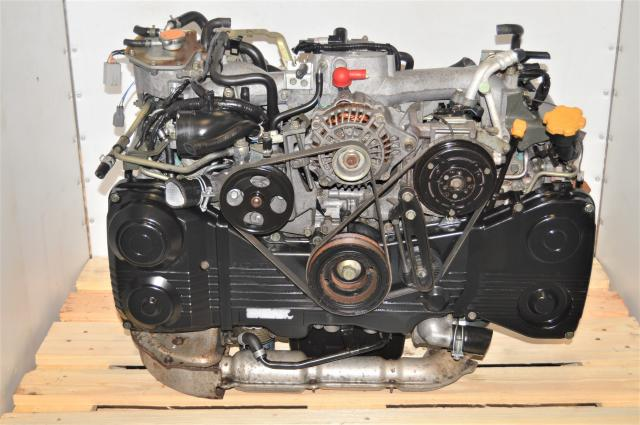 Used Subaru EJ205 AVCS WRX 2002-2005 Engine Swap with TD04 Turbocharger and TGV Deletes for Sale