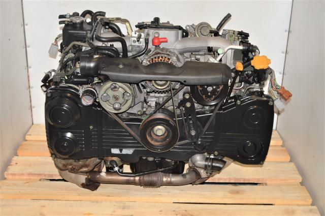 Used Subaru GDA WRX 2002-2005 AVCS EJ205 2.0L DOHC Engine with TD04 Turbocharger for Sale