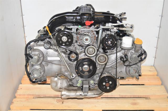 Used Subaru Forester, Legacy, Outback 2.5L FB25 DOHC Replacement 2011-2019 Engine Swap for Sale with EGR