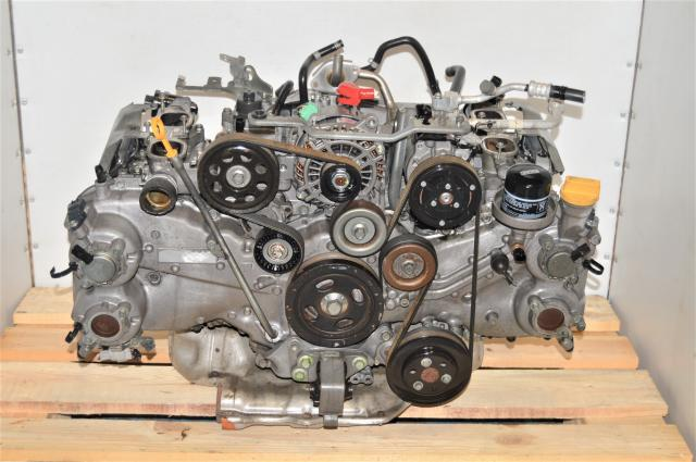 Used Subaru 2.5L FB25 DOHC 2011-2019 Forester, Outback, Legacy Engine Long Block with EGR